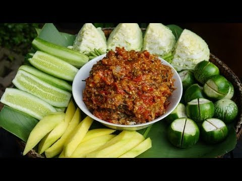 How To Make Khmer Fish-paste With Chili Recipe - Cooking With Davann