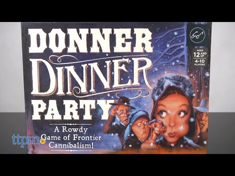 Donner Dinner Party from Chronicle Books