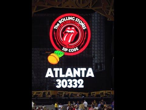 "The Rolling Stones ""Some Girls"" @ Bobby Dodd Stadium Atlanta, GA."