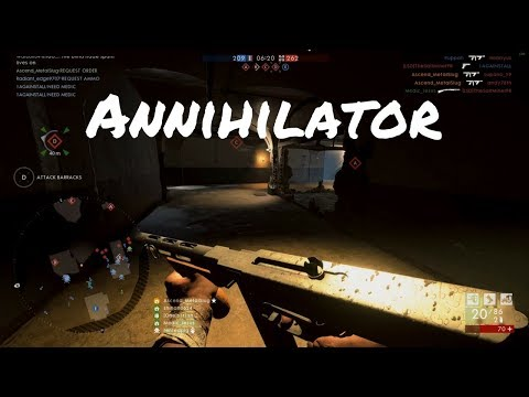Battlefield 1 | Thompson Annihilator Trench - Close Range SMG King?