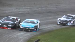 2015 Oktoberfest Big-8 Series Heat Race including in-car video with Kyle Shear