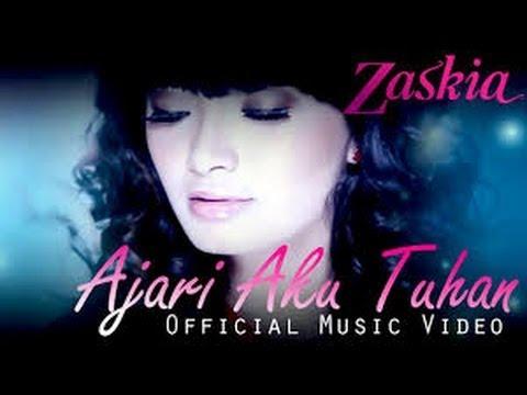 ISUR Lirik Lagu Zaskia -- Ajari Aku Tuhan Mp3