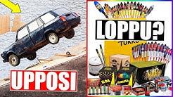 Auto upposi mereen Suomessa! Rakettien myynti loppuu pian?