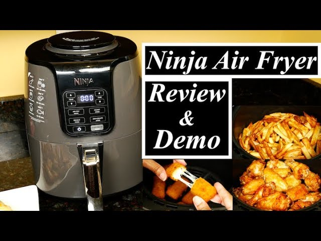 Ninja Air Fryer Review And Demo Youtube
