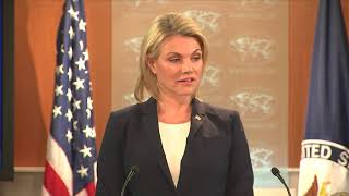 Nauert: Tillerson never called Trump a 'moron'