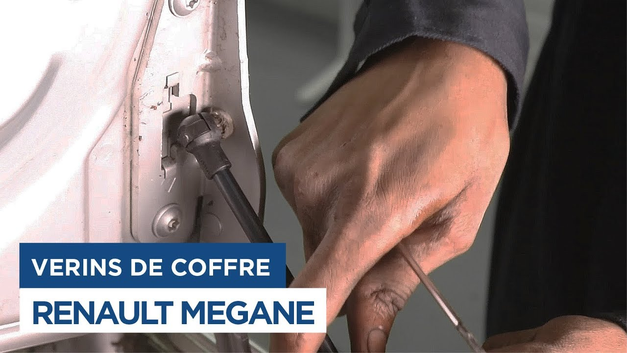 renault megane changer les v 233 rins de coffre