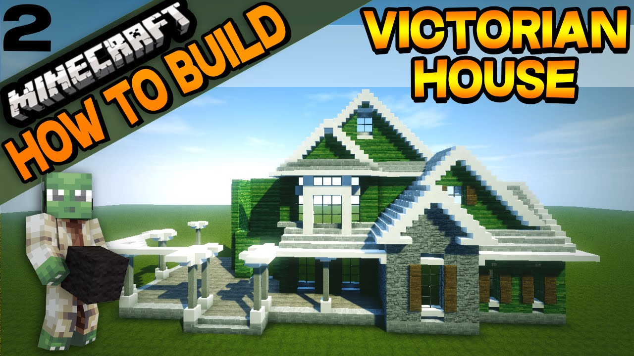minecraft victorian house how to build e02 youtube
