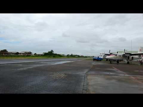 Gum Air Take Off Zorg & Hoop Airfield Paramaribo Suriname (South America)