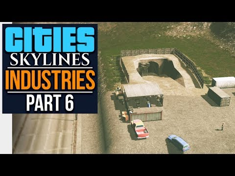 Cities: Skylines Industries | ORE INDUSTRY (#6)