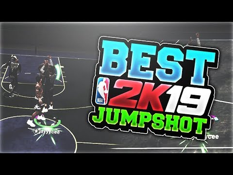 NBA 2K19 BEST CUSTOM JUMPSHOT FOR MYPARK I FOUND THE BEST JUMPSHOT FOR ANY BUILD GREENLIGHTS ONLY!