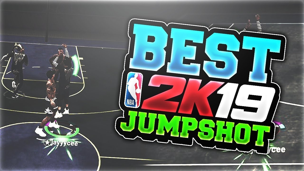 NBA 2K19 BEST CUSTOM JUMPSHOT FOR MYPARK I FOUND THE BEST