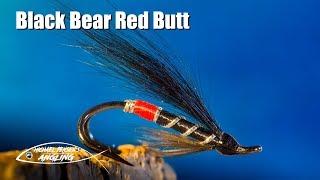 Black Bear Red Butt - Salmon/Steelhead fly tying