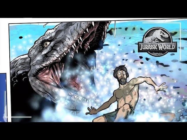 La vague - Motion Comic Ep.1 | Jurassic World