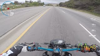 ZS190 1st speed run...Feels like a Turbo/Supercharged 125cc!!!