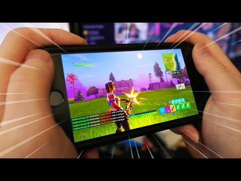 PLAY Fortnite: Battle Royale ON YOUR PHONE! (iPhone & Android) - Mobile Fortnite Concept Gameplay