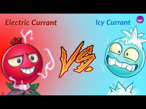Electric Currant Vs. Icy Currant - Plants Vs Zombies 2 Chinese Version Exclusive Plants