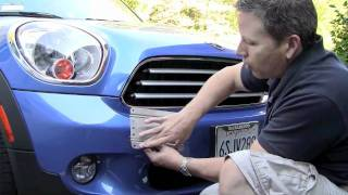 No Holes License Plate for MINI Countryman