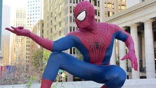 Spiderman Cosplay (Unboxing TASM 2 Suits)