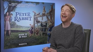 Domhnall Gleeson tells us the actors he loves working with | Peter Rabbit