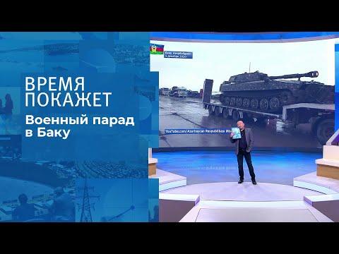Военный парад в Баку. Время покажет. Фрагмент выпуска от 08.12.2020
