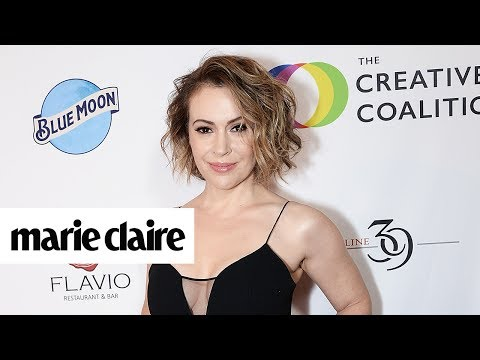 Alyssa Milano Opened Up About Feud with 'Charmed' Costar Shannen Doherty & More News | Marie Claire
