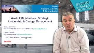 7512nsc lecture 9 strategic leadership change management