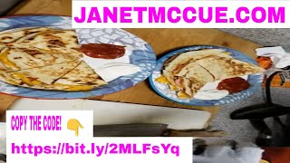 Follow the LINK to MAKE MONEY while you are enjoying these EASY TASTY Ham & Cheese Quesadilla's