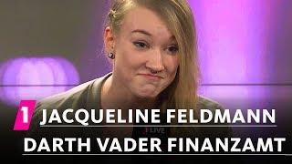 Jacqueline Feldmann: Darth Vader beim Finanzamt
