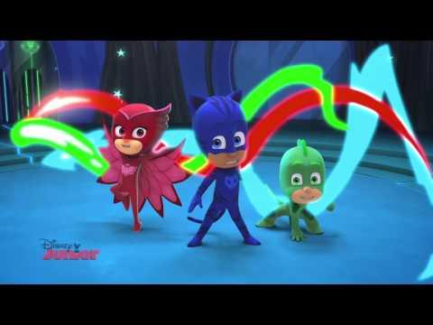Eroii în pijama - Noaptea în oraș Doar la Disney Junior
