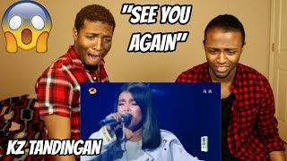 KZ Tandingan - See You Again | Episode 10 | Singer 2018 | REACTION