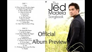 Jed Madela - The Jed Madela Songbook - ( Album Preview)
