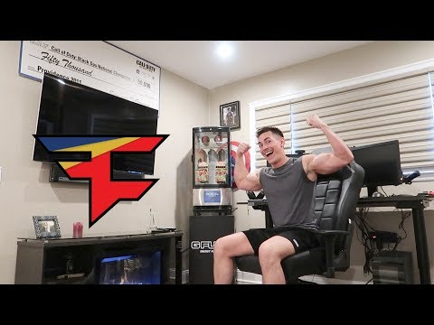 FAZE CENSOR'S NEW GAMING SETUP 2018