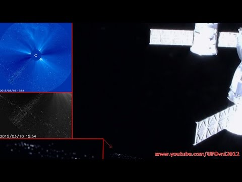NASA Cuts LIVE Space Feed, UFO Flotilla Appears At ISS
