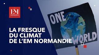 La fresque du climat de l'EM Normandie