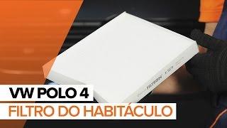 Como trocar filtro do habitáculo VW Polo | Tutorial HD