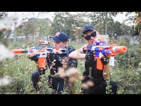 LTT Gaming Nerf Guns : Game Nerf Guns | Winter Warriors Fight Dangerous Criminals