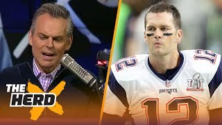 Colin isn't sure why you'd want Blake Bortles in the Super Bowl instead of Tom Brady | THE HERD