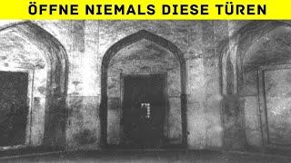 Geheimnisvoll verschlossene Türen, die sich nie öffnen lassen werden!