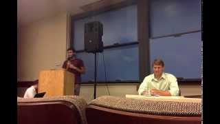Zoltan vs Zerzan Stanford University debate
