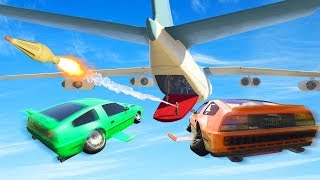 ATTACK THE MASSIVE PLANE! (GTA 5 Heists)