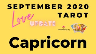 CAPRICORN | What a glorious month for you! | SEPTEMBER 2020 LOVE | LIVE TAROT READING
