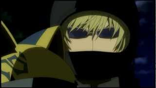 Shizuo bounces on Celty