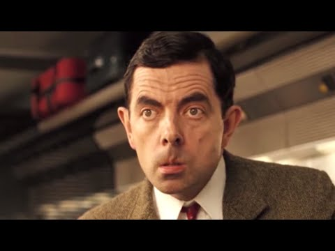 Train Trouble With Bean | Funny Clips | Mr Bean Official