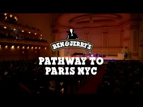 Music & Climate Change Activism @ Pathway to Paris NYC  Ben & Jerry's