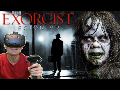 BECOME EXORCIST IN VIRTUAL REALITY | The Exorcist: Legion VR Gameplay HTC Vive - Part 1