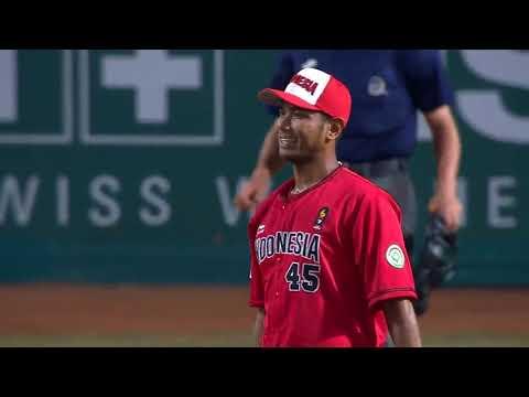 Full Highlight Baseball Putra Indonesia Vs Taiwan   Asian Games 2018   Vidio Com