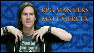 RPG Etiquette! (Game Master Tips)