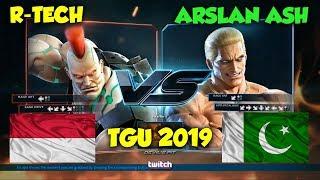 R-Tech Vs Arslan Ash_(Jack-7 Vs Geese)_TGU 2019 INTENSE MATCH