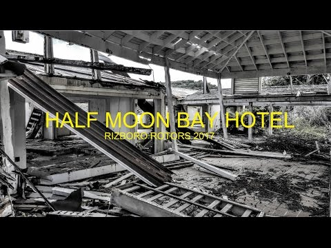 Abandoned Hotel - Half Moon Bay - Antigua