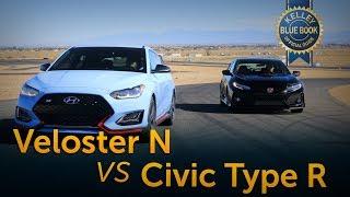 Hyundai Veloster N vs Honda Civic Type R